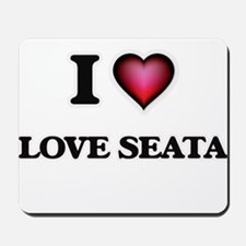 I Love Love Seata Mousepad