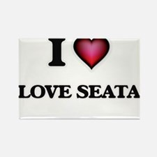 I Love Love Seata Magnets
