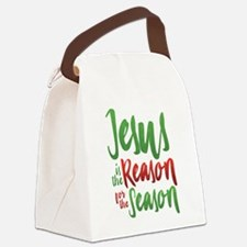 Jesus is the Reason Canvas Lunch Bag