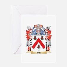 Foi Coat of Arms - Family Crest Greeting Cards