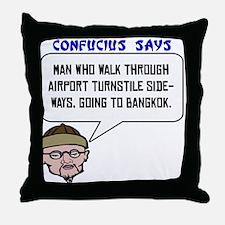Bangkok Throw Pillow