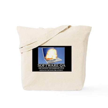 Software QA Tote Bag