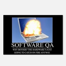 Software QA Postcards (Package of 8)