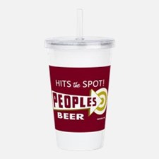 Peoples Beer Design Re Acrylic Double-wall Tumbler