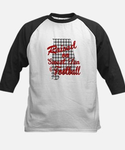 Sweet Tea, football and houndstooth Baseball Jerse