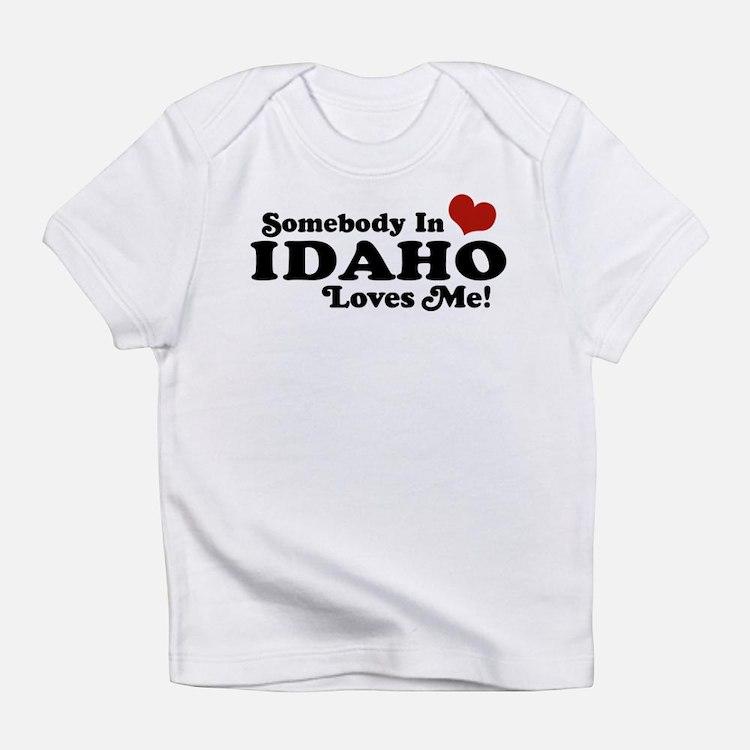 Cute Idaho state Infant T-Shirt