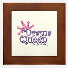 Drama Queen I.T. Framed Tile