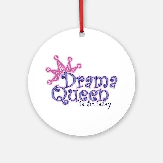 Drama Queen I.T. Ornament (Round)