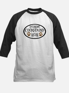 Redbone Coonhound Mom Oval Tee