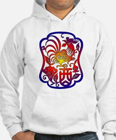 Chinese Zodiac Rooster Hoodie