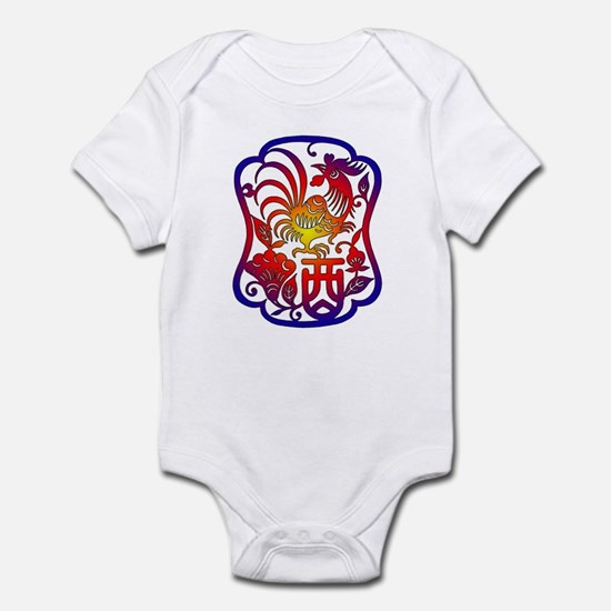 Chinese Zodiac Rooster Infant Bodysuit