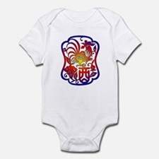 Chinese Zodiac Rooster Onesie