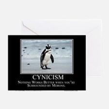 Cynicism Greeting Cards (Pk of 10)