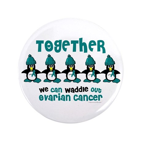 "Winter Penguin 4 (OC) 3.5"" Button"