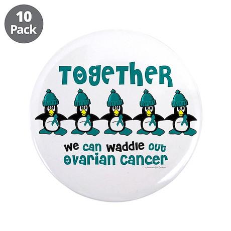 "Winter Penguin 4 (OC) 3.5"" Button (10 pack)"