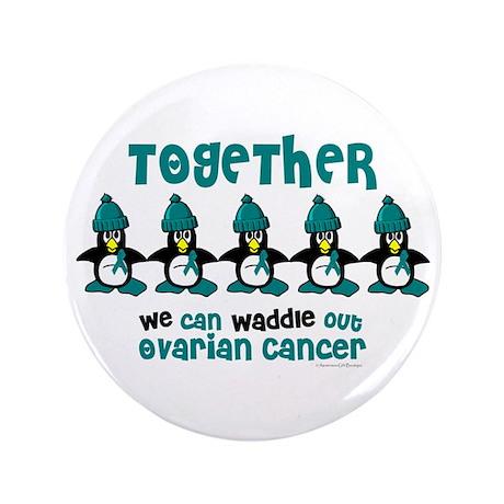 "Winter Penguin 4 (OC) 3.5"" Button (100 pack)"