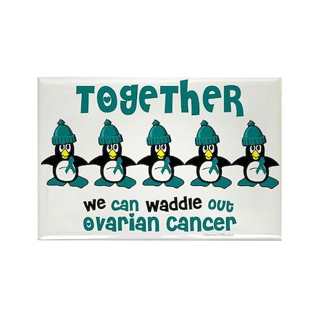 Winter Penguin 4 (OC) Rectangle Magnet (10 pack)