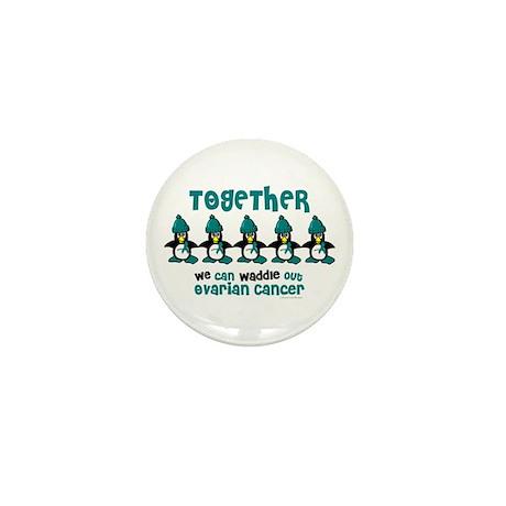 Winter Penguin 4 (OC) Mini Button (100 pack)