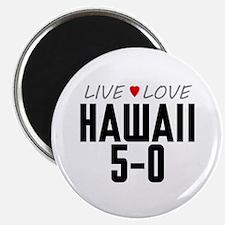 "Live Love Hawaii 5-0 2.25"" Magnet (100 pack)"