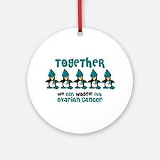 Winter Penguin 4 (OC) Ornament (Round)