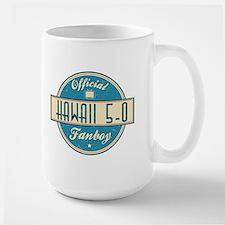 Official Hawaii 5-0 Fanboy Large Mug