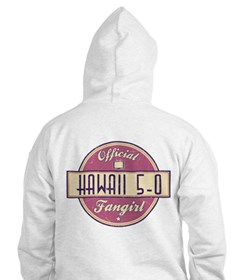 Official Hawaii 5-0 Fangirl Hoodie
