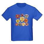 Ten Daylilies Kids Dark T-Shirt