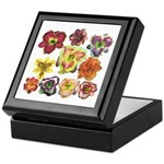Ten Daylilies Keepsake Box