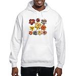 Ten Daylilies Hooded Sweatshirt