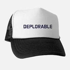 Unique Blue Trucker Hat