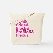 Unique Blocks Tote Bag