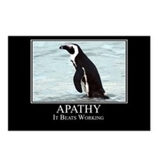 Apathy Postcards (Package of 8)