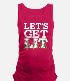 Lets Get Lit Maternity Tank Top