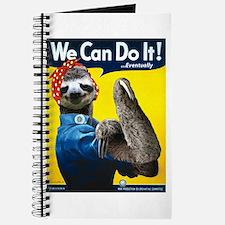 Rosie the Riveter Sloth Journal