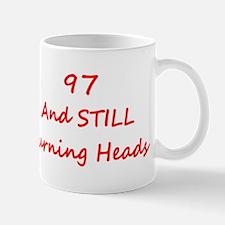 97 Still Turning Heads 2 Red Mugs