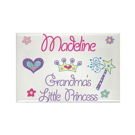 Madeline - Grandma's Little P Rectangle Magnet (10
