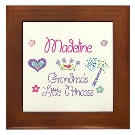 Madeline - Grandma's Little P Framed Tile