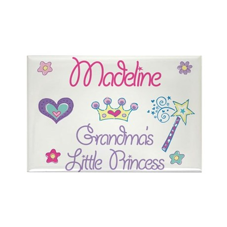 Madeline - Grandma's Little P Rectangle Magnet
