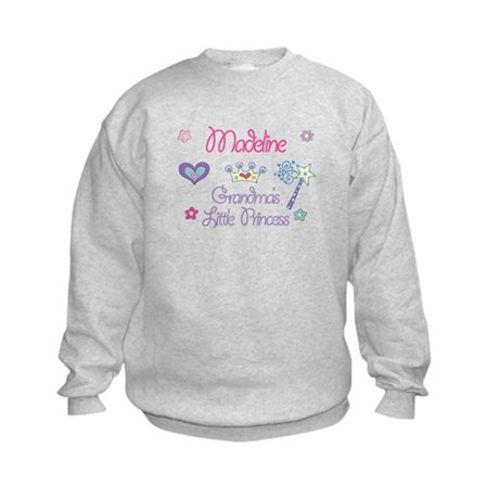 Madeline - Grandma's Little P Kids Sweatshirt