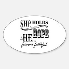 Cute Getting hopeful Decal