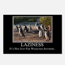 Laziness Postcards (Package of 8)
