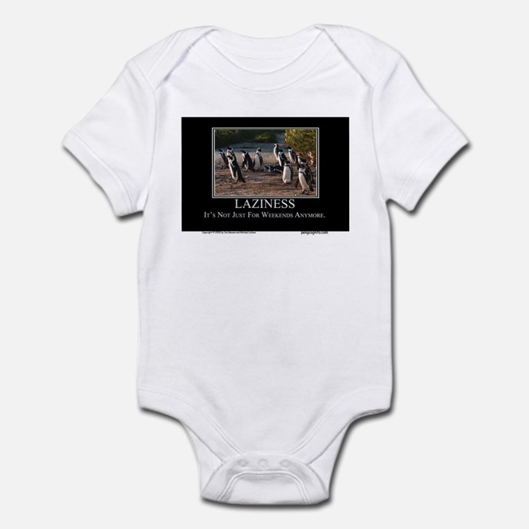 Laziness Infant Bodysuit