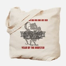 Chinese Zodiac Rooster Traits Tote Bag