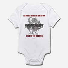 Chinese Zodiac Rooster Traits Infant Bodysuit