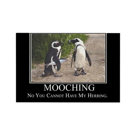 Mooching Rectangle Magnet (100 pack)