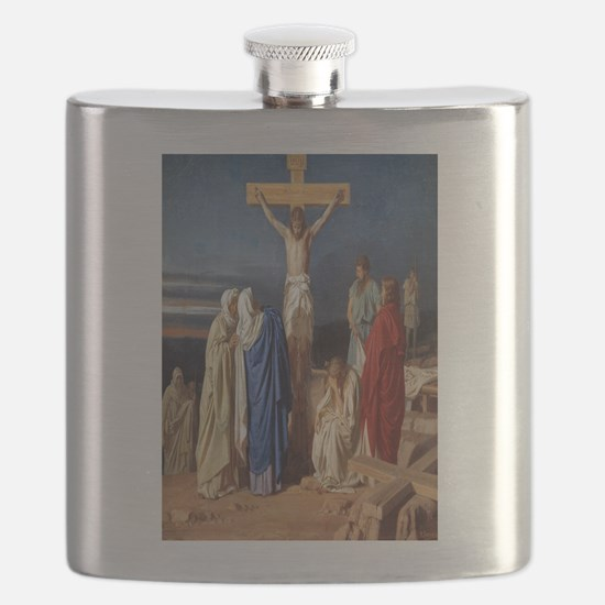 The Crucifixion of Jesus Flask