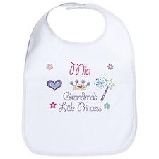 Mia - Grandma's Little Prince Bib