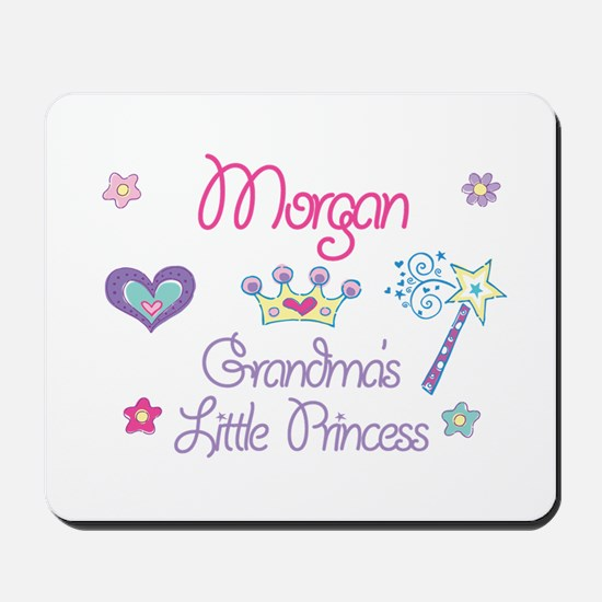 Morgan - Grandma's Little Pri Mousepad