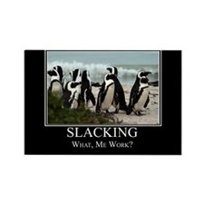 Slacking Rectangle Magnet