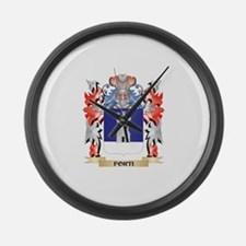 Forti Coat of Arms - Family Crest Large Wall Clock
